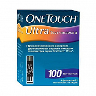 Тест-полоски One touch Ultra 100 шт..